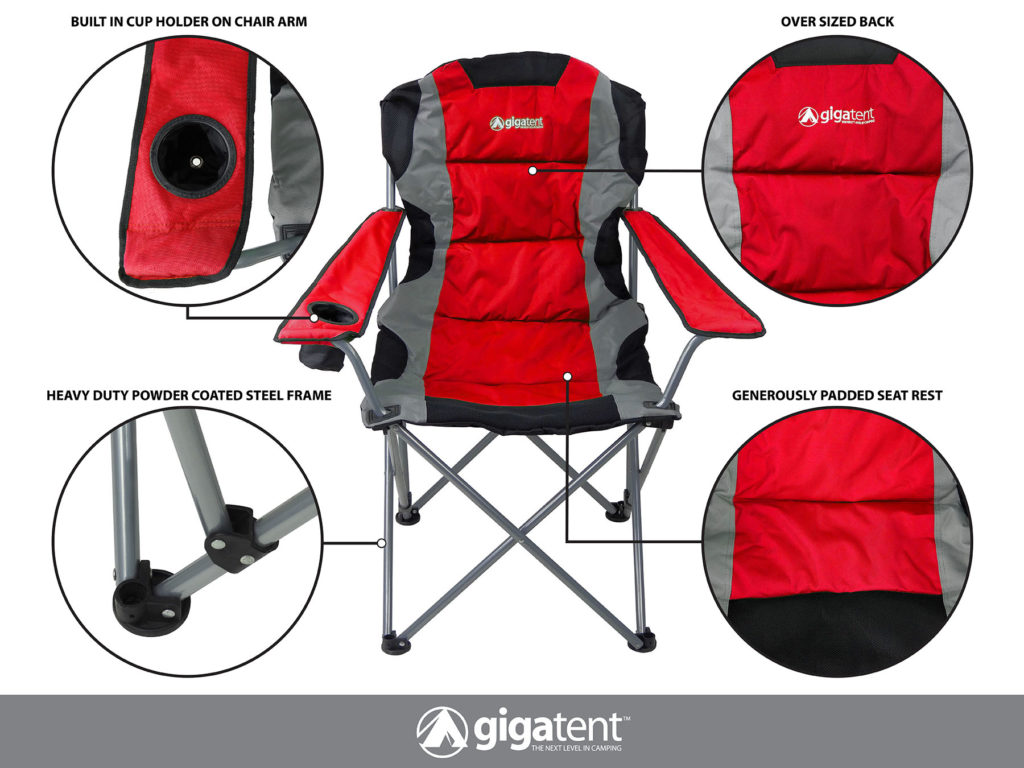 Terrific Gigatent Outdoor Camping Chair Lightweight Portable Theyellowbook Wood Chair Design Ideas Theyellowbookinfo