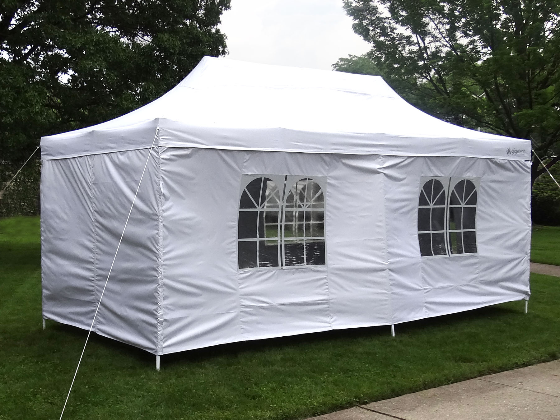 Gigatent Pop Up Canopy 20 X 10 Height Up To 130 Quot Walls
