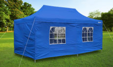 The Party Tent Deluxe (Blue) : screen houses canopies - memphite.com