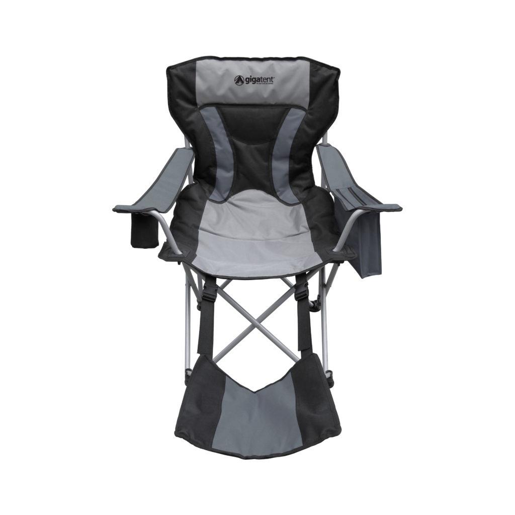 Marvelous Gigatent Ergonomic Portable Footrest Camping Chair Black Theyellowbook Wood Chair Design Ideas Theyellowbookinfo